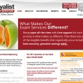 Website: Loyalist Exams Services