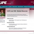 Website: CUPE Local 1022